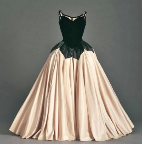 """Petal"" gown, Charles James designs 1951.  Phoenix Art Museum"
