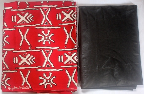 Woodin fabric and Faux leather