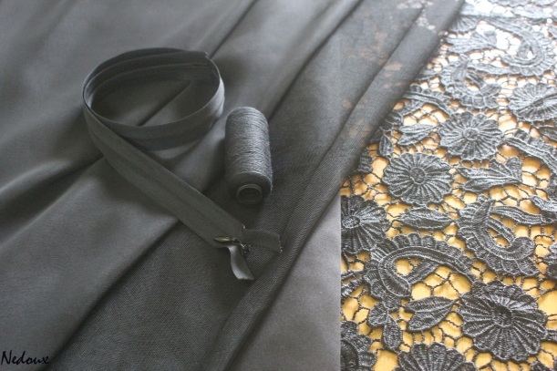 How to sew guipure lace