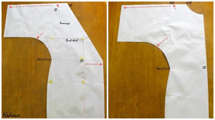 How to draft a Kimono pattern