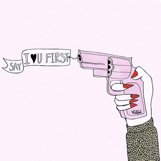 Pink gun love