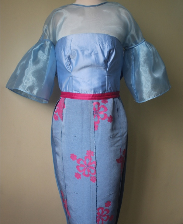 Asooke dress lining 2