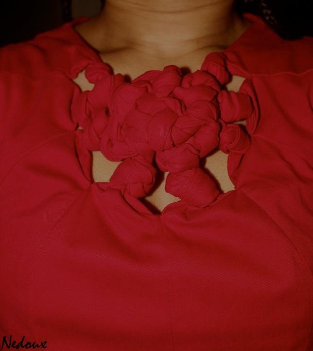 Pattern magic knots dress